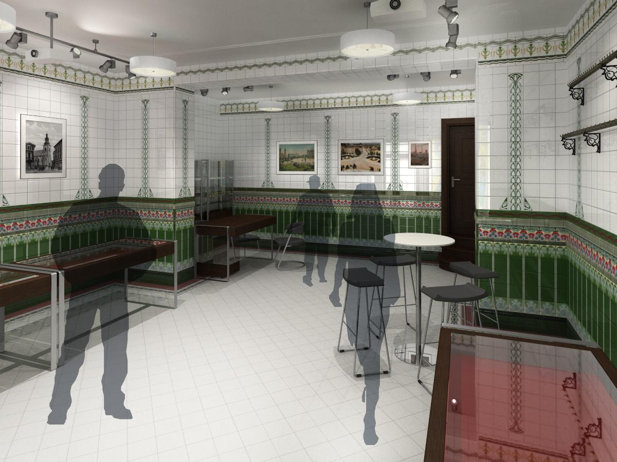 Severyn Projekt - Projekt remontu wnętrza lokalu usługowego