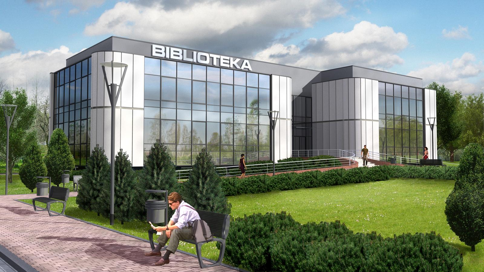 Severyn Projekt - Powiatowa Biblioteka w Będzinie