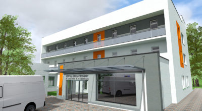 Severyn Projekt - Rozbudowa szpitala geriatrycznego
