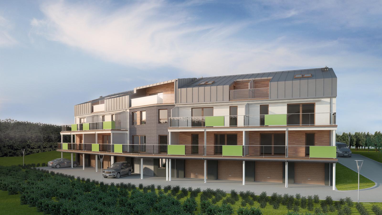 Severyn Projekt - Budowa zespołu domów jednorodzinnych w Mysłowicach