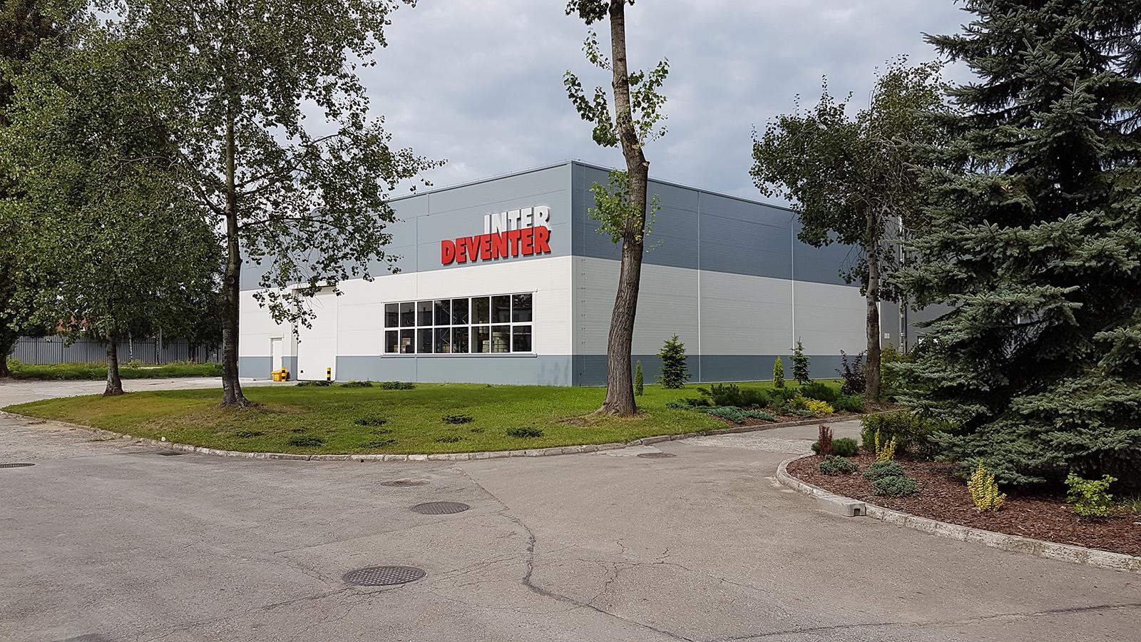 Severyn Projekt - INTER DEVENTER Sp. z o.o. – siedziba firmy w Sosnowcu – rozbudowa hal produkcyjno-magazynowych