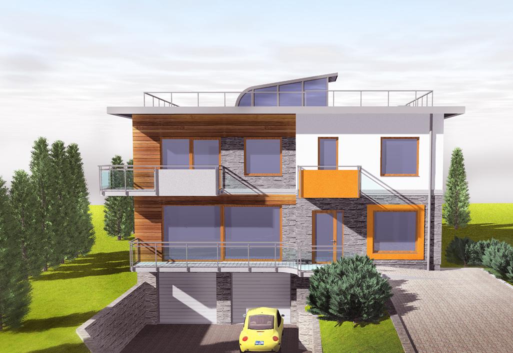 Severyn Projekt - Sat-mont-service – biurowiec odziału firmy w Sosonowcu
