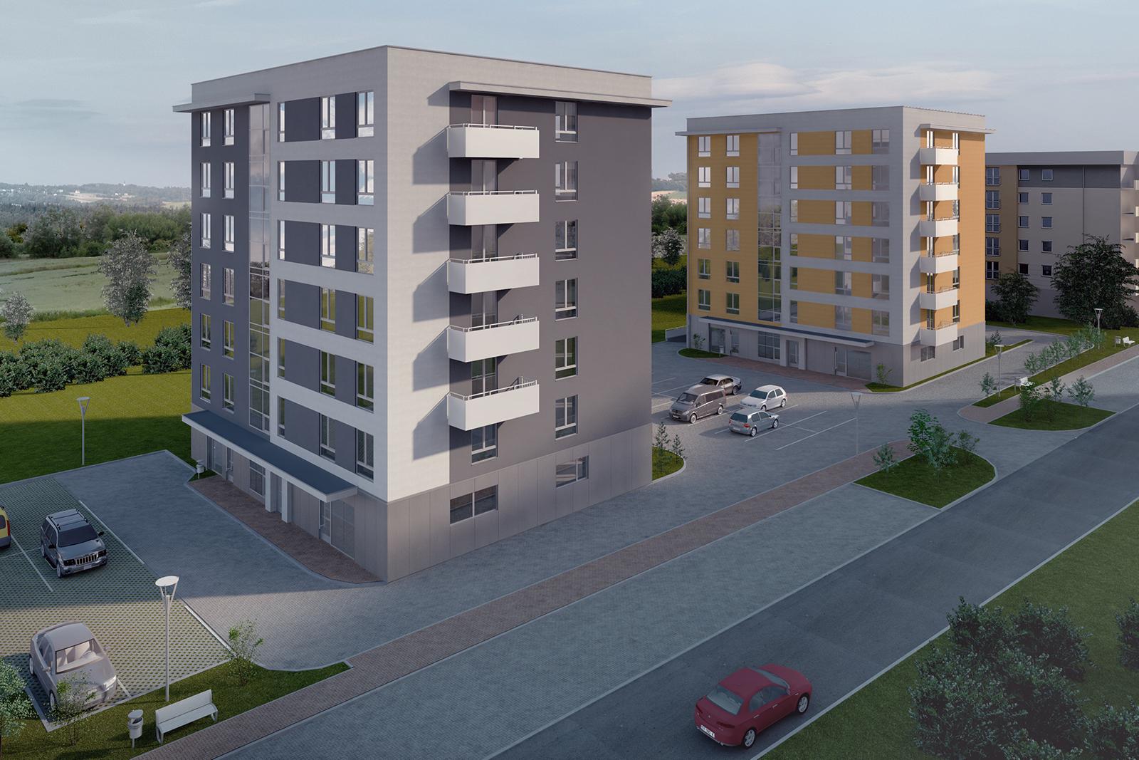 Severyn Projekt - Budynki wielorodzinne w Tychach