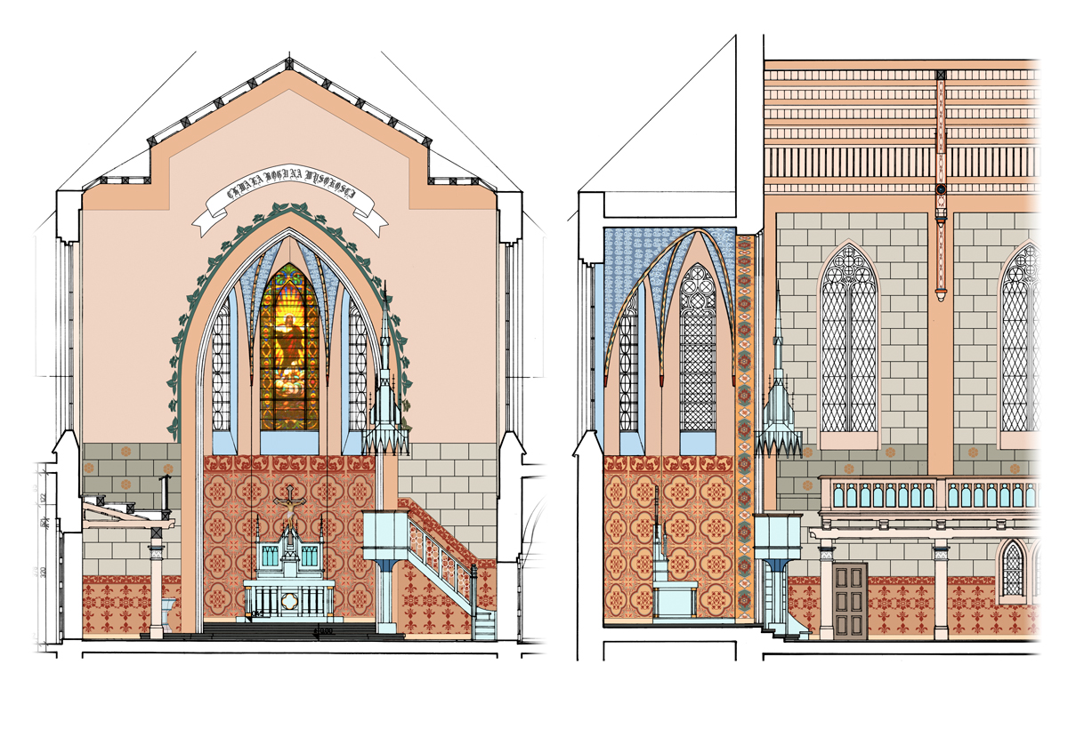 Severyn Projekt - Kościół Ewangelicko-Augsburski apostołów Piotra i Pawła